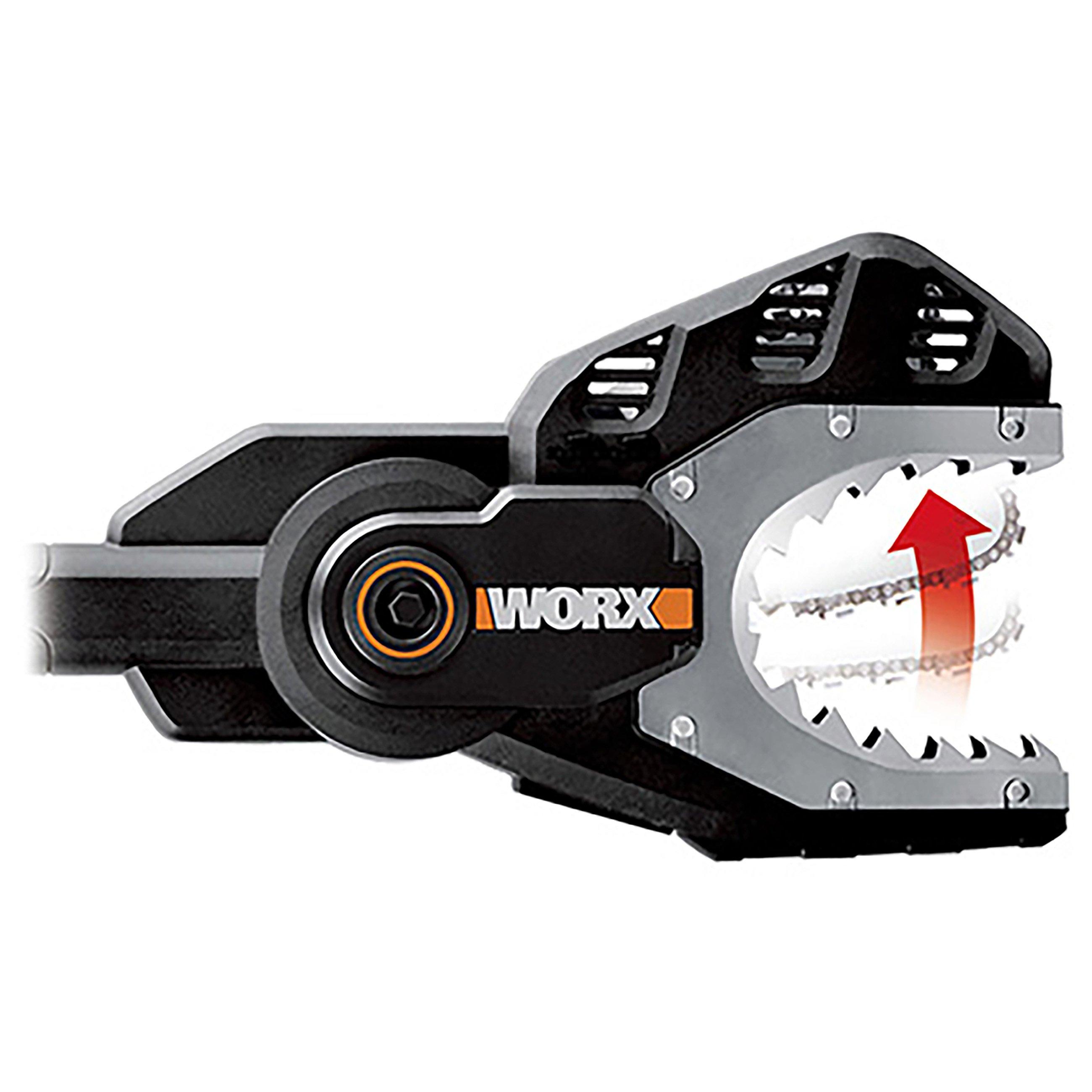Worx WG329E. 9 20V Piła jawna, bez akumulatora, zęby stalowe