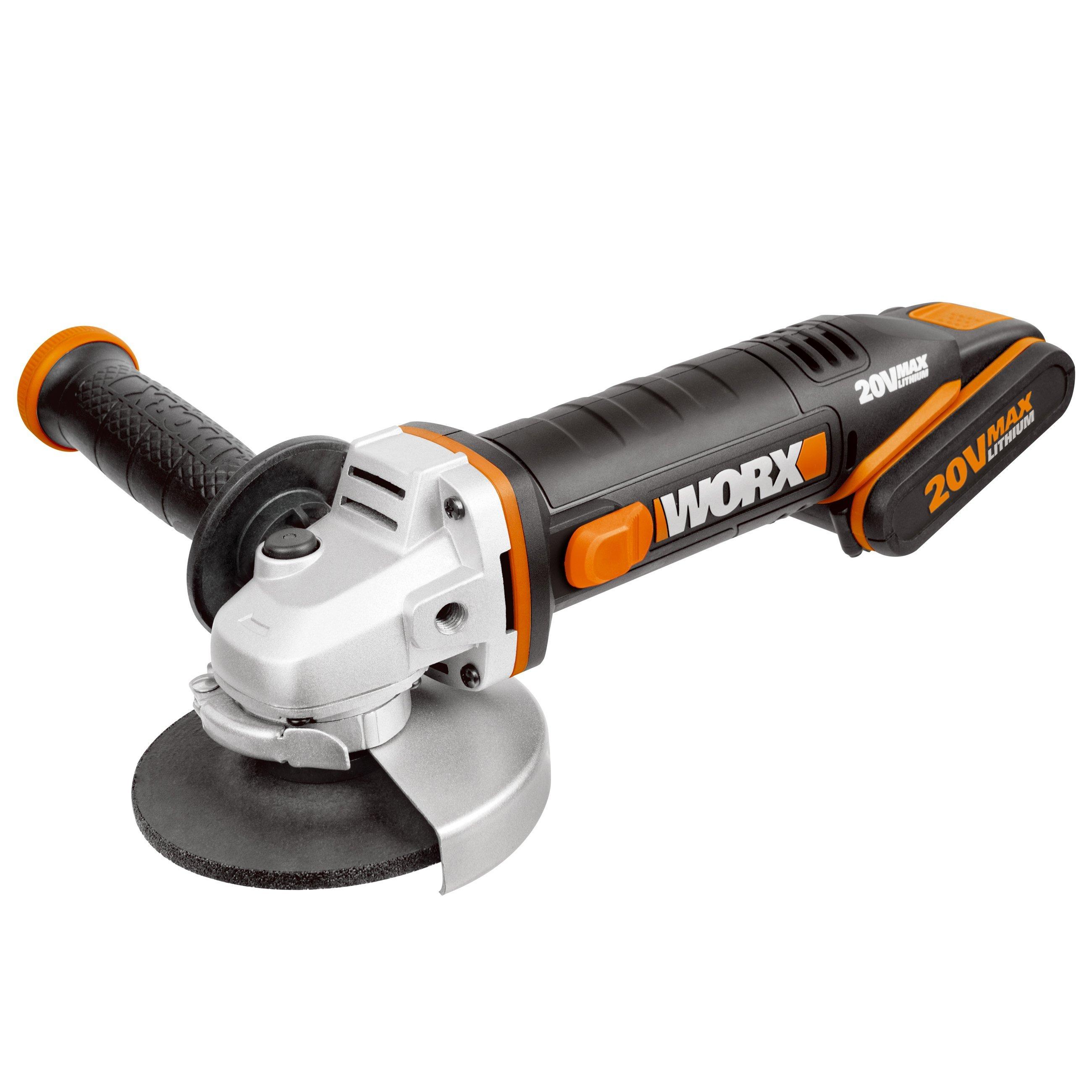 worx-wx800-μπαταρία-γωνία μύλος-flex