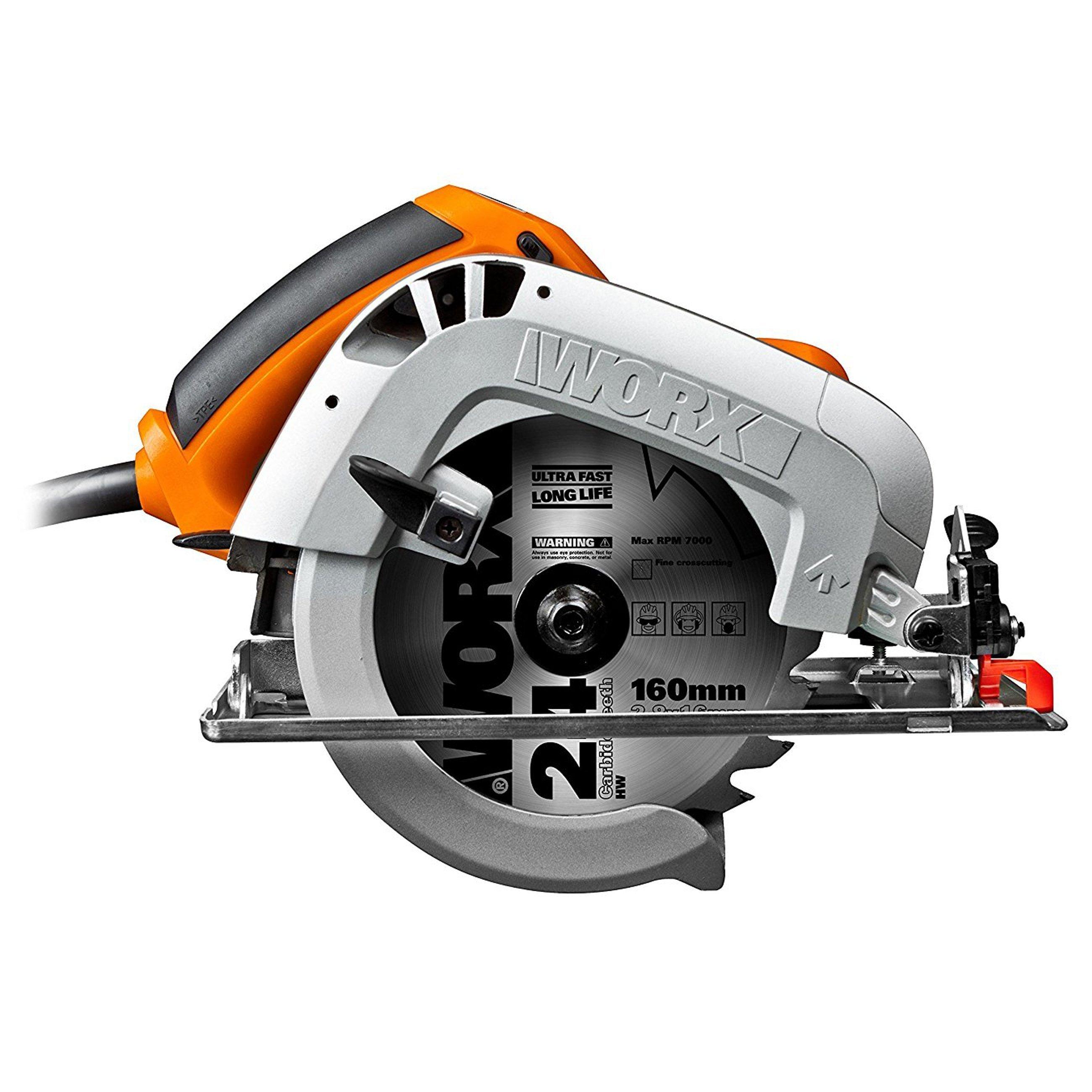 Worx WX425 Kreissägen, Handkreissäge, kabelgebunden