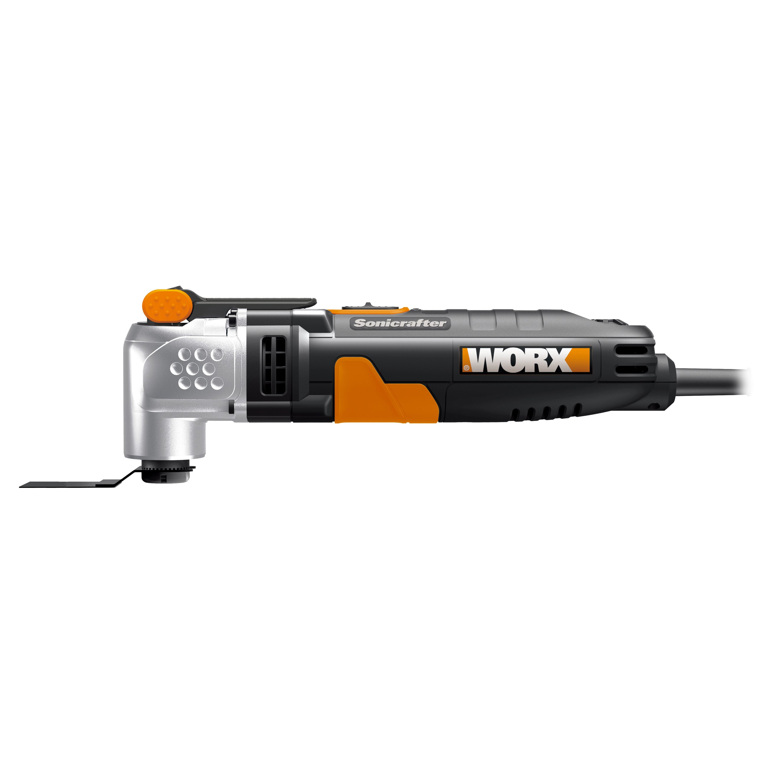 Worx WX685 250W Multifunktionswerkzeug, Seitenansicht